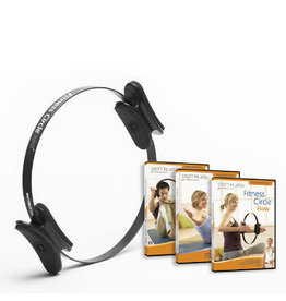 MERRITHEW Fitness Circle Pro 14 inch & Fitness Circle Series 3 DVDs