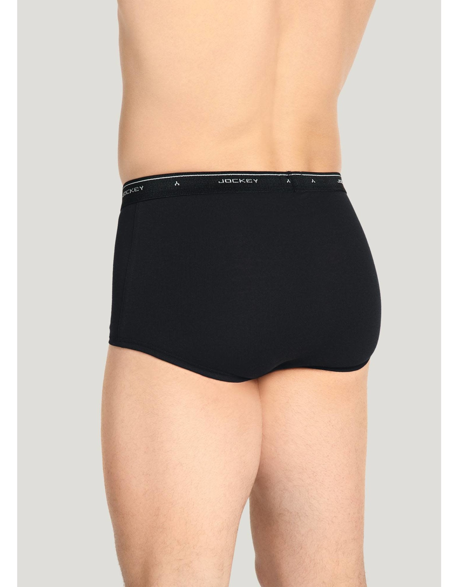 JOCKEY Classic Knits 100% Cotton, Full Rise Brief
