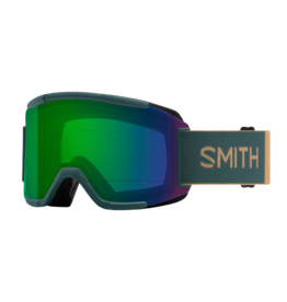 Smith Squad - Frame: Spruce, Lens: Chromapop Everyday Green Mirror & Yellow