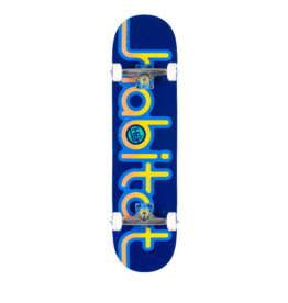 HABITAT Skateboard Complete, Eroded Expo Blue