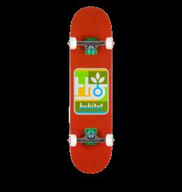 HABITAT Skateboard Complete, Mod Pod Red 7.875