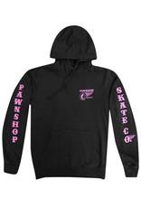 Pawnshop Pawnshop W&W Pink/Charcoal Hoodie