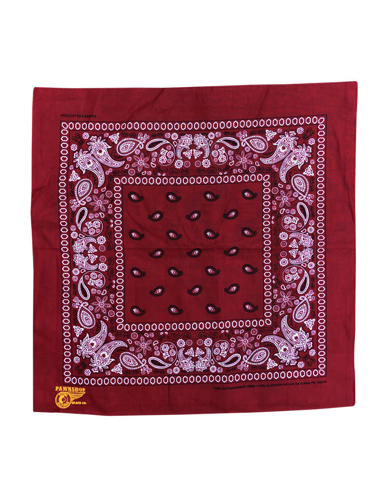 Pawnshop Pawnshop Gold Embroidered Bandana