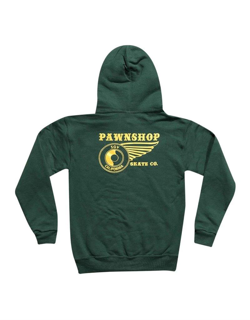 Pawnshop Pawnshop Wing&Wheel Youth Hoodie