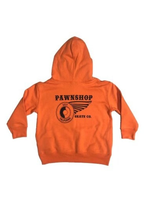Pawnshop Pawnshop SGV Wing & Wheel Youth Hoodie