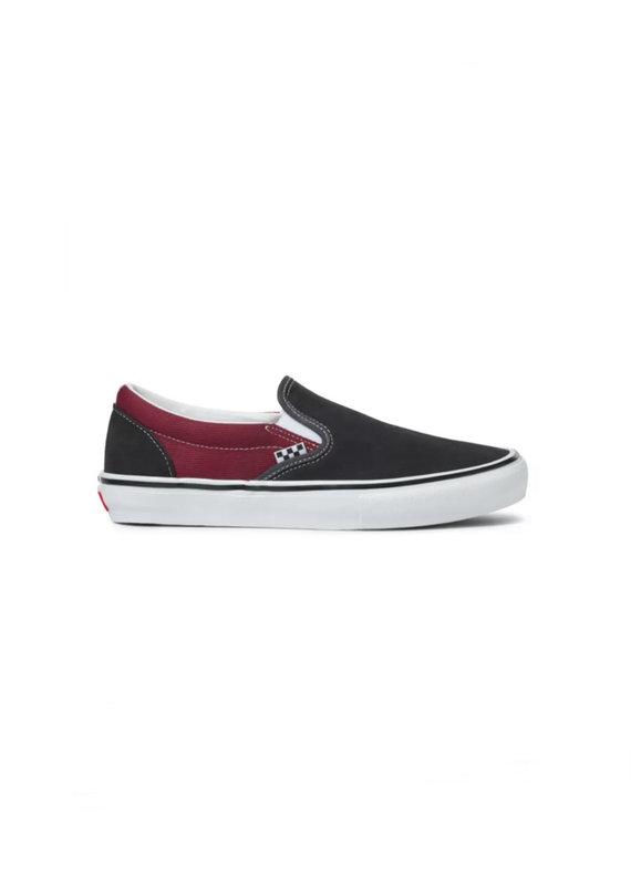 Vans Skate Slip-On (Asphalt/Pomegranate)