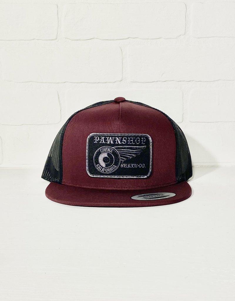 Wing & Wheel Trucker Hat Wing & Wheel Patch
