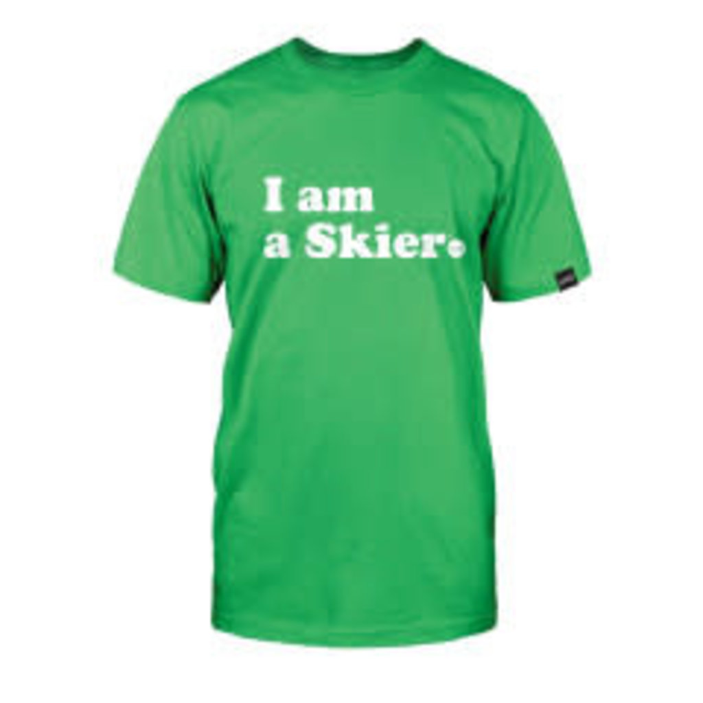 Line Skis Line I Am A Skier Men's T-Shirt Green