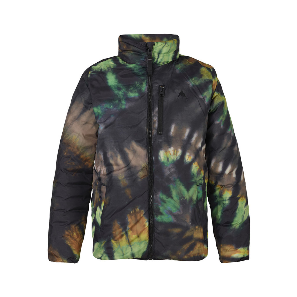 Burton Burton Kids' Reversible Flex Puffy True Black/Camo Munjeet Medium
