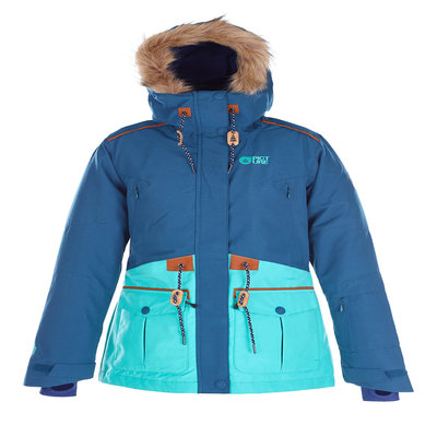 Picture Organic Clothing Picture Organic Apply Women's Jacket Petrol Blue/Mint Green