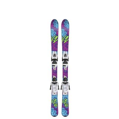 k2 K2 Luv Bug Youth Ski + 4.5 FDT Binding