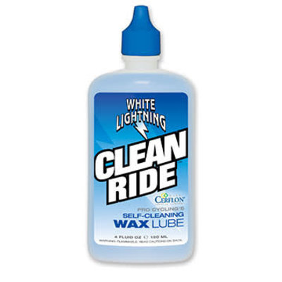 WHITE LIGHTNING White Lightning Lube Clean Ride Wax 4 oz