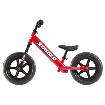 Strider Sports Strider 12 Classic Kids Balance Bike: Red
