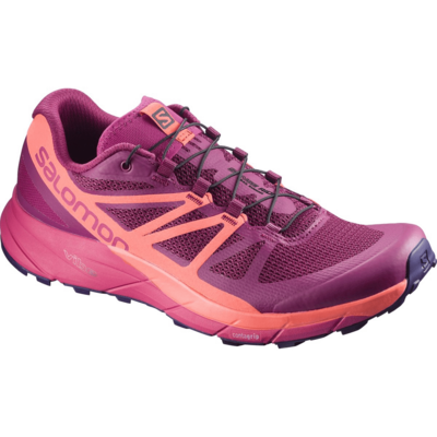 Salomon Salomon Sense Ride Shoe Women's Sangria - Living Coral