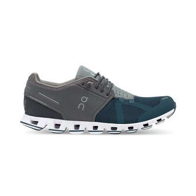 On Running On Running Cloud 50/50 Women's Grey/Storm 8.5