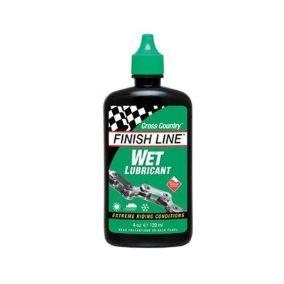 Finish Line Finish Line Wet Bike Chain Lube - 4 fl oz, Drip