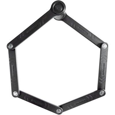 Kryptonite Kryptonite Keeper 510 Folding Lock: Black, 100cm, 3mm
