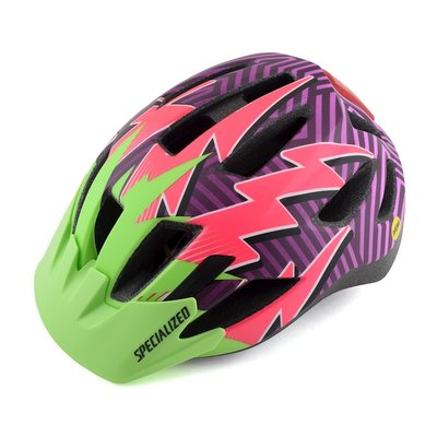 Specialized Specialized Shuffle LED MIPS CPSC Youth Helmet MonsterGreen/AcidPink/Lightening