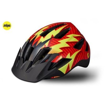 Specialized Specialized Shuffle LED MIPS CPSC Youth Helmet RocketRed/BlackLightening