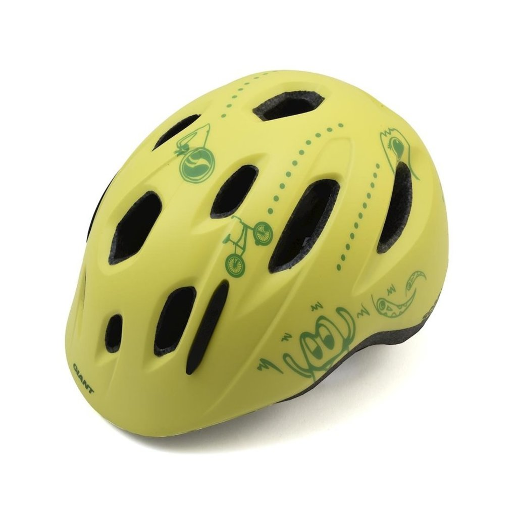 Giant Giant Holler MIPS Youth Helmet Matte Lime