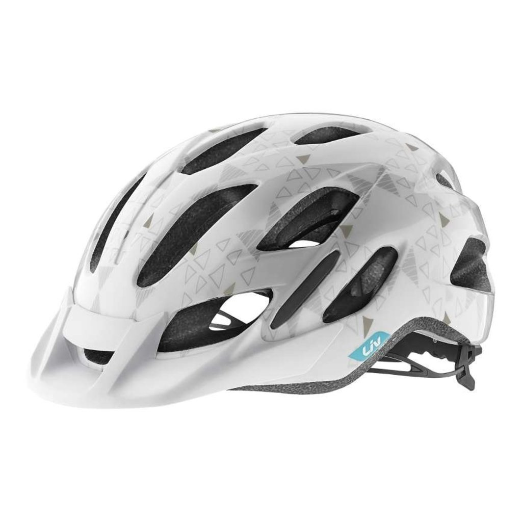 Giant Liv Unica Youth Cycling Helmet White