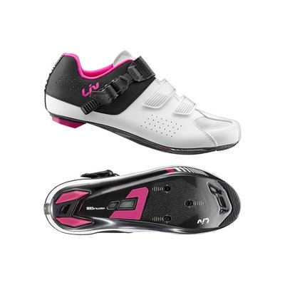 Giant Liv Mova Road Shoe White/Black/Purple