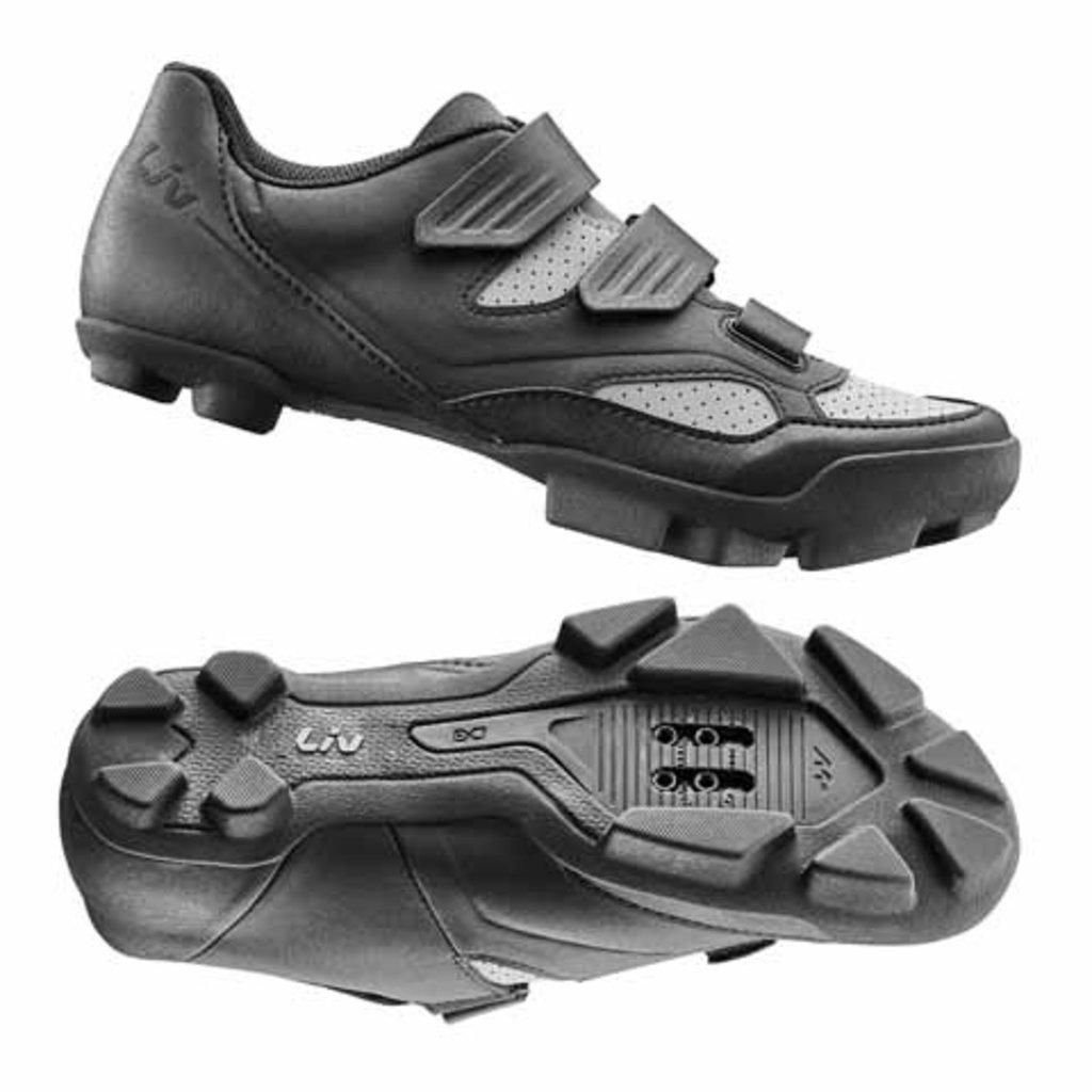 LIV Liv Fera 2 Off-Road Shoe Nylon Sole 41 Black/Grey