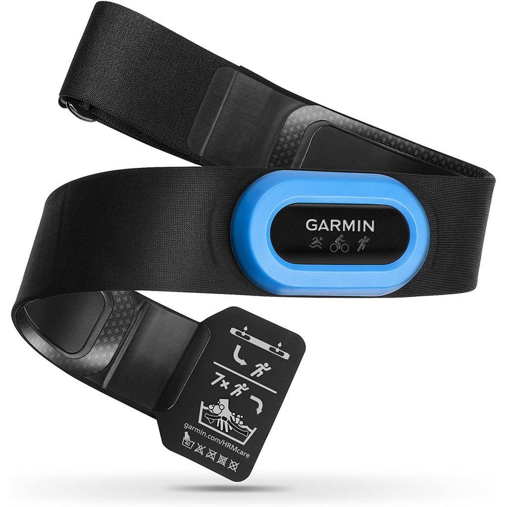 Garmin Garmin HRM-Tri  Premium HRM w/Running Dynamics & Swim HR (open water) Black strap/Blue Module