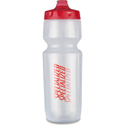 Specialized Specialized Purist Hydroflo Fixy Bottle SBC TRANS/RED DIFFUSE 23 OZ
