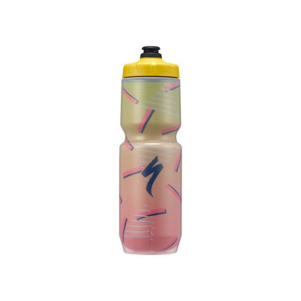 Specialized Purist Insulated Chromatek MFLO Bottle Yel Retro Bright 23 oz