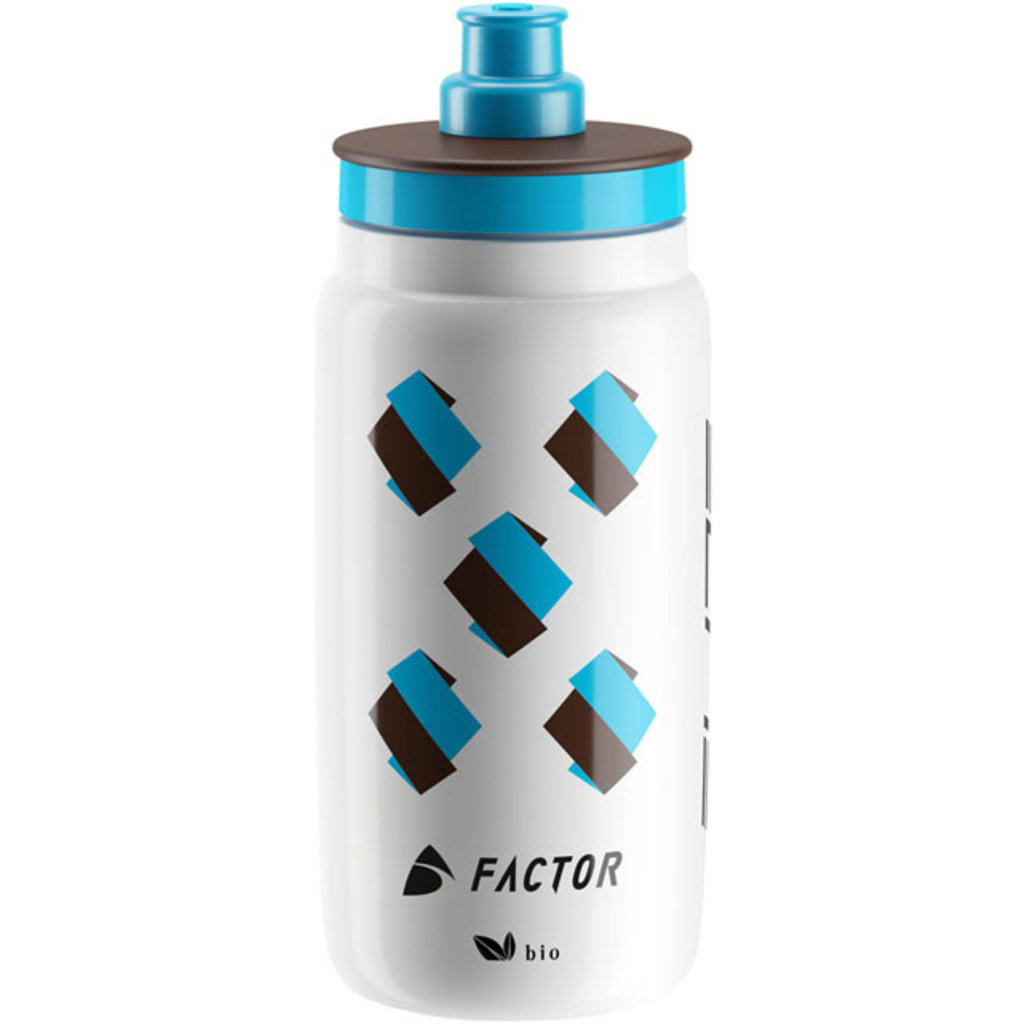 Elite SRL Elite FLY AG2R Water Bottle: 16oz, White