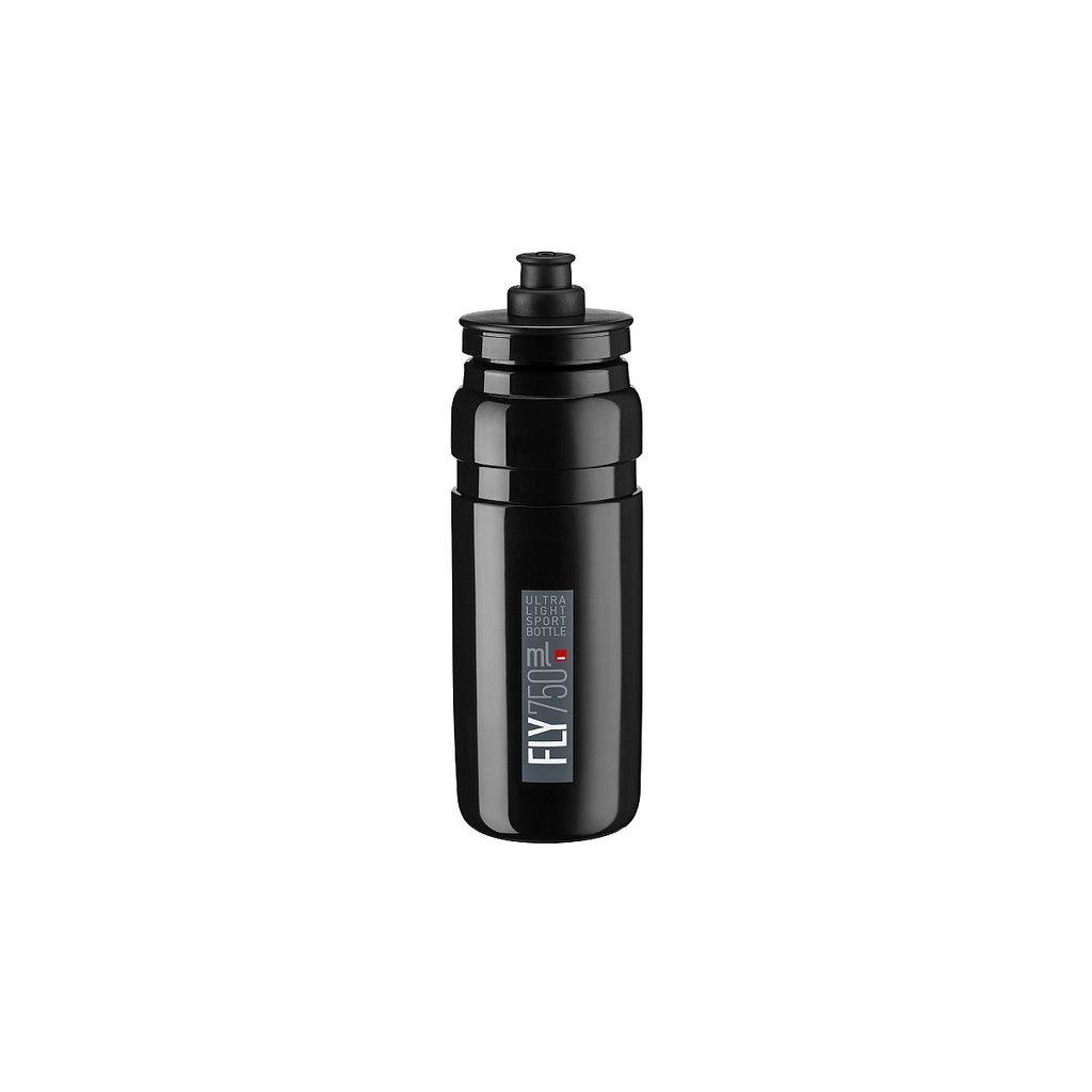 Elite SRL Elite Fly TDF Water Bottle, 750ml: Black