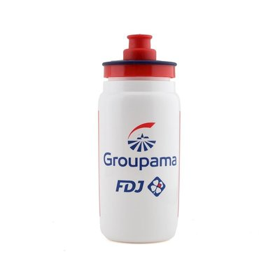 Elite SRL Elite Fly FDJ Team Water Bottle 550ml: White