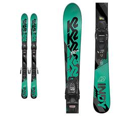 k2 K2 Indy Youth Ski + 4.5 FDT Binding Teal/Black