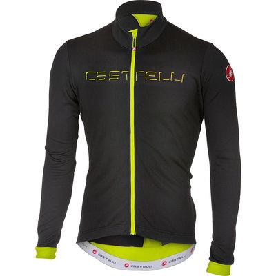 castelli Castelli Men's Fondo Jersey - Light Black/Yellow