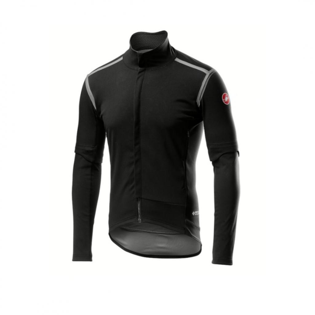 castelli Castelli Men's Perfetto ROS Convertible Jacket - Light Black