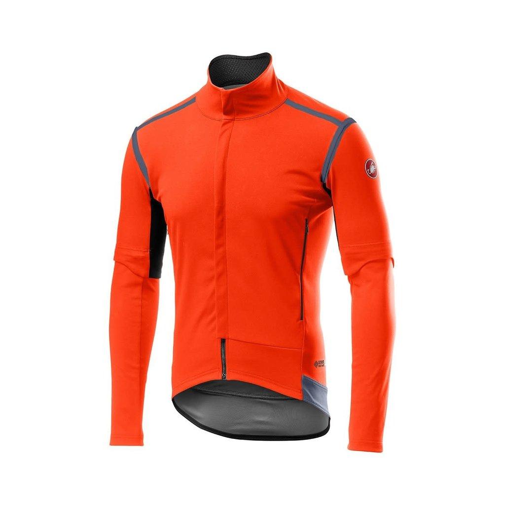 castelli Castelli Men's Perfetto ROS Convertible Jacket - Orange