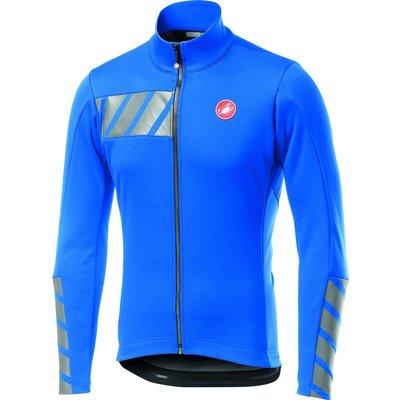 castelli Castelli Men's Raddoppia 2 Jacket - Drive Blue