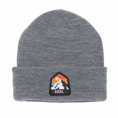 Coal Headwear Coal Peak Kid's Beanie Heather Grey