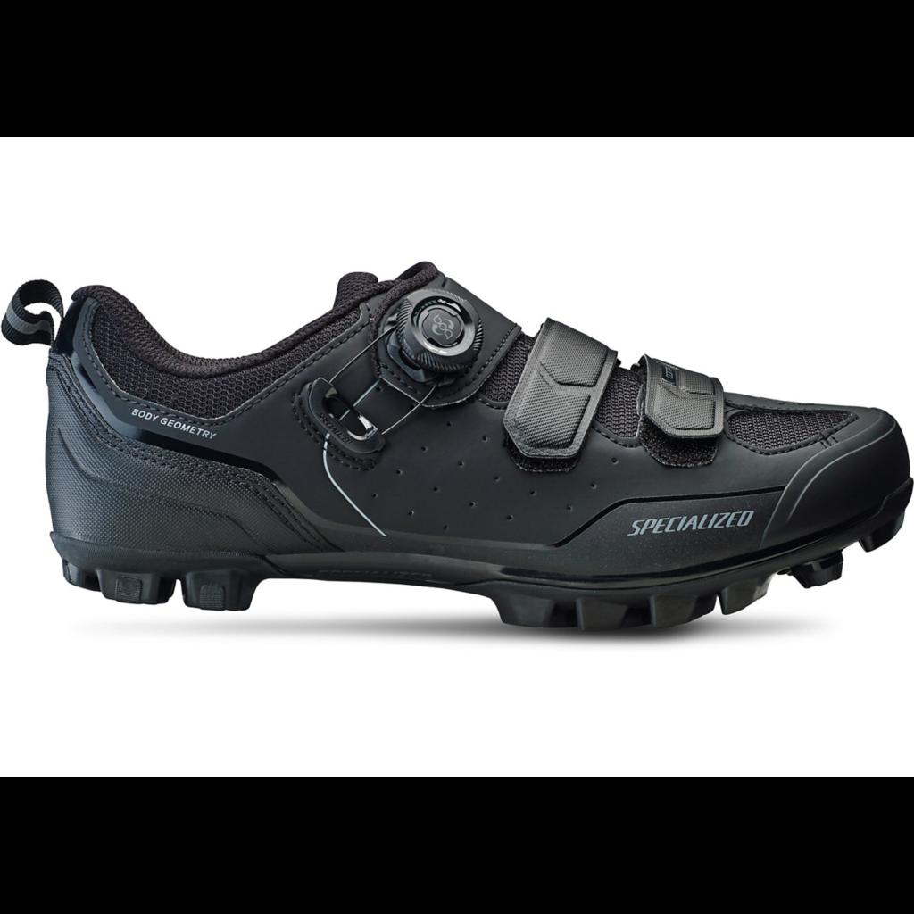 Specialized Specialized Comp MTB Shoe Black/Dark Grey WIDE 44
