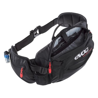 EVOC EVOC, Hip Pack Race, Hydration Bag, Volume: 3L, Bladder: Included (1.5L), Black
