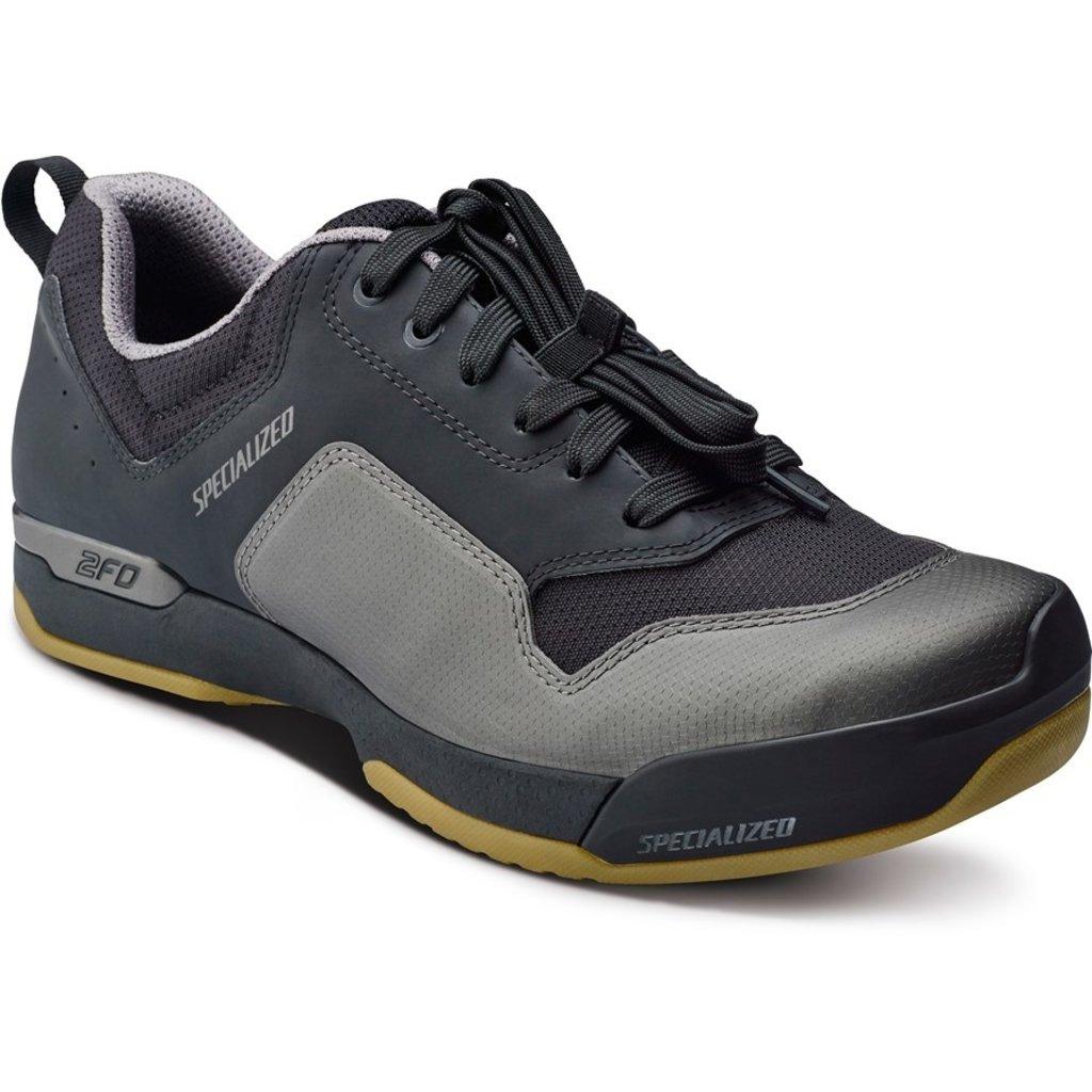 Specialized Specialized 2FO Cliplite Lace Men's Mountain Shoe Black/Gum 43.5