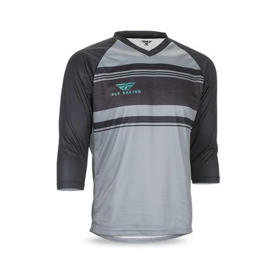 FLY RACING FLY Ripa Jersey Gray/Heather/Black/Teal