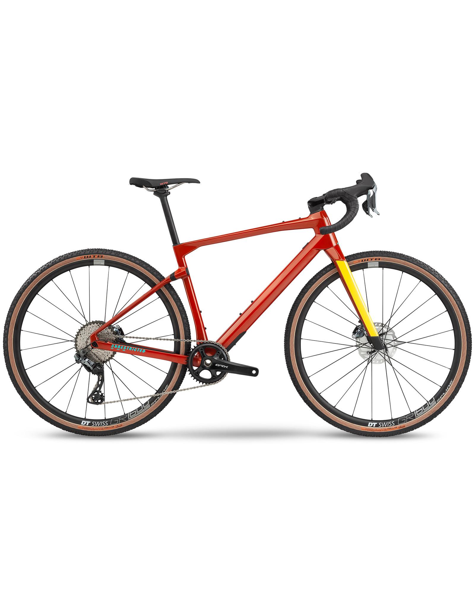 BMC BMC UnReStricted TWO (2020) (GRX 800 Di2) Orange / Jaune