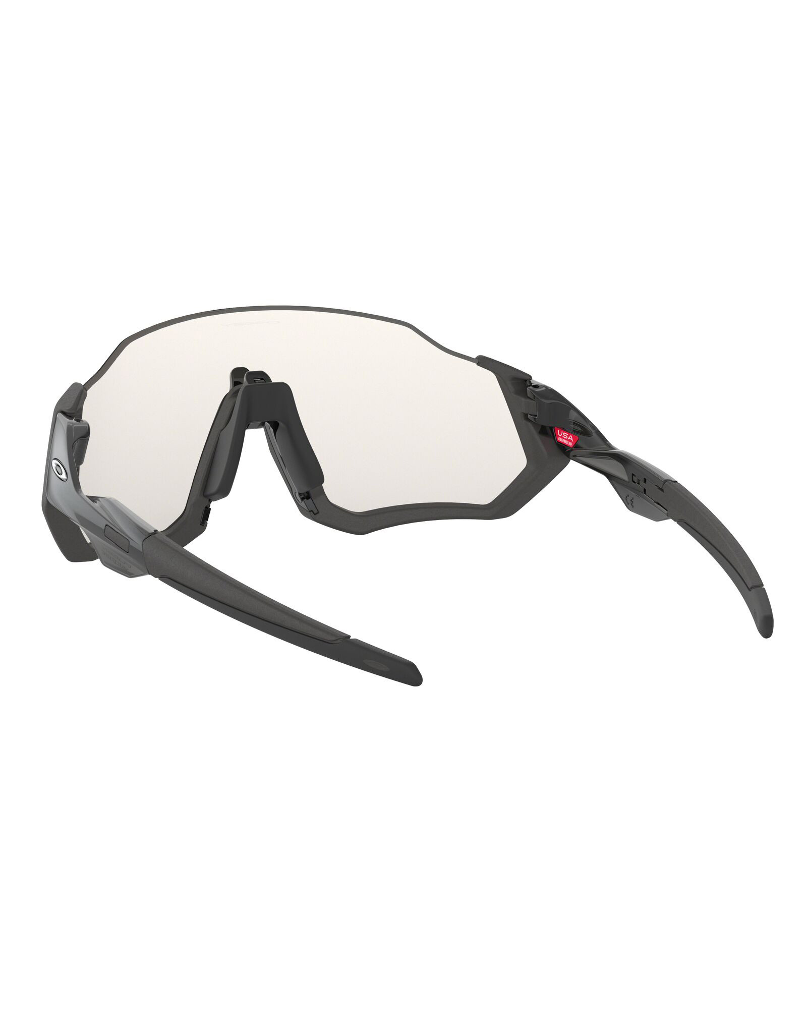 Oakley OAKLEY Flight Jacket Scenic Grey/Matte Steel w/Clear to Black Iridium Photochromic