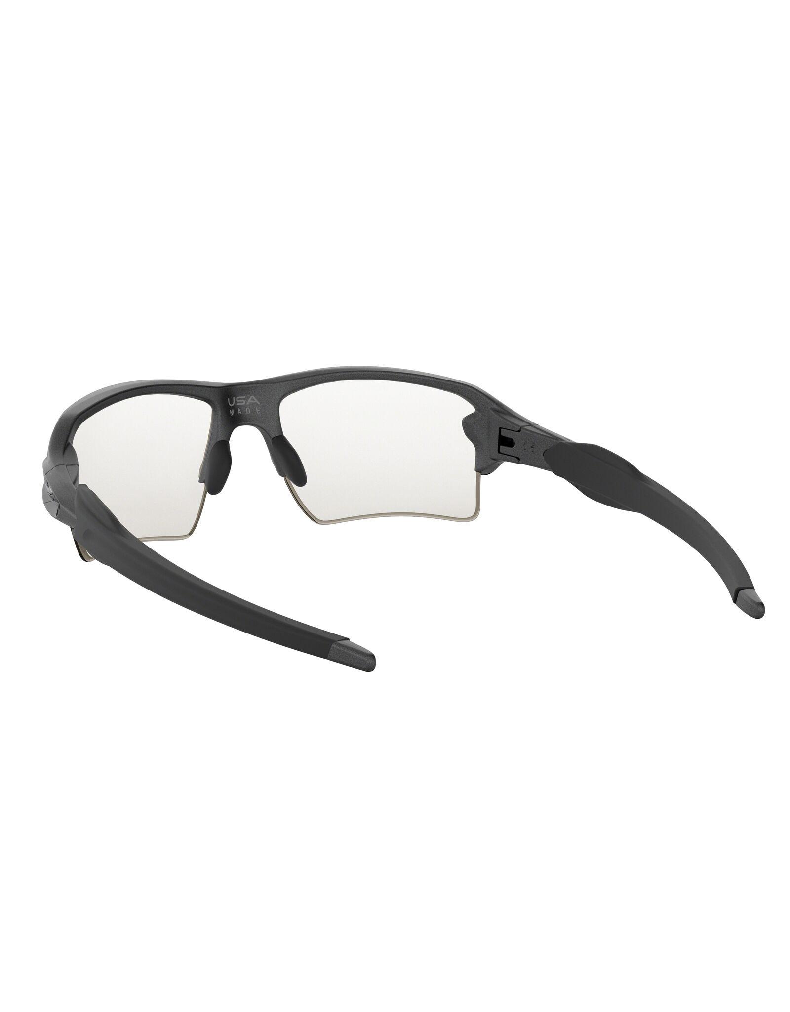 Oakley Lunettes OAKLEY Flak 2.0 XL Steel w/Clear to Black Iridium Photochromic