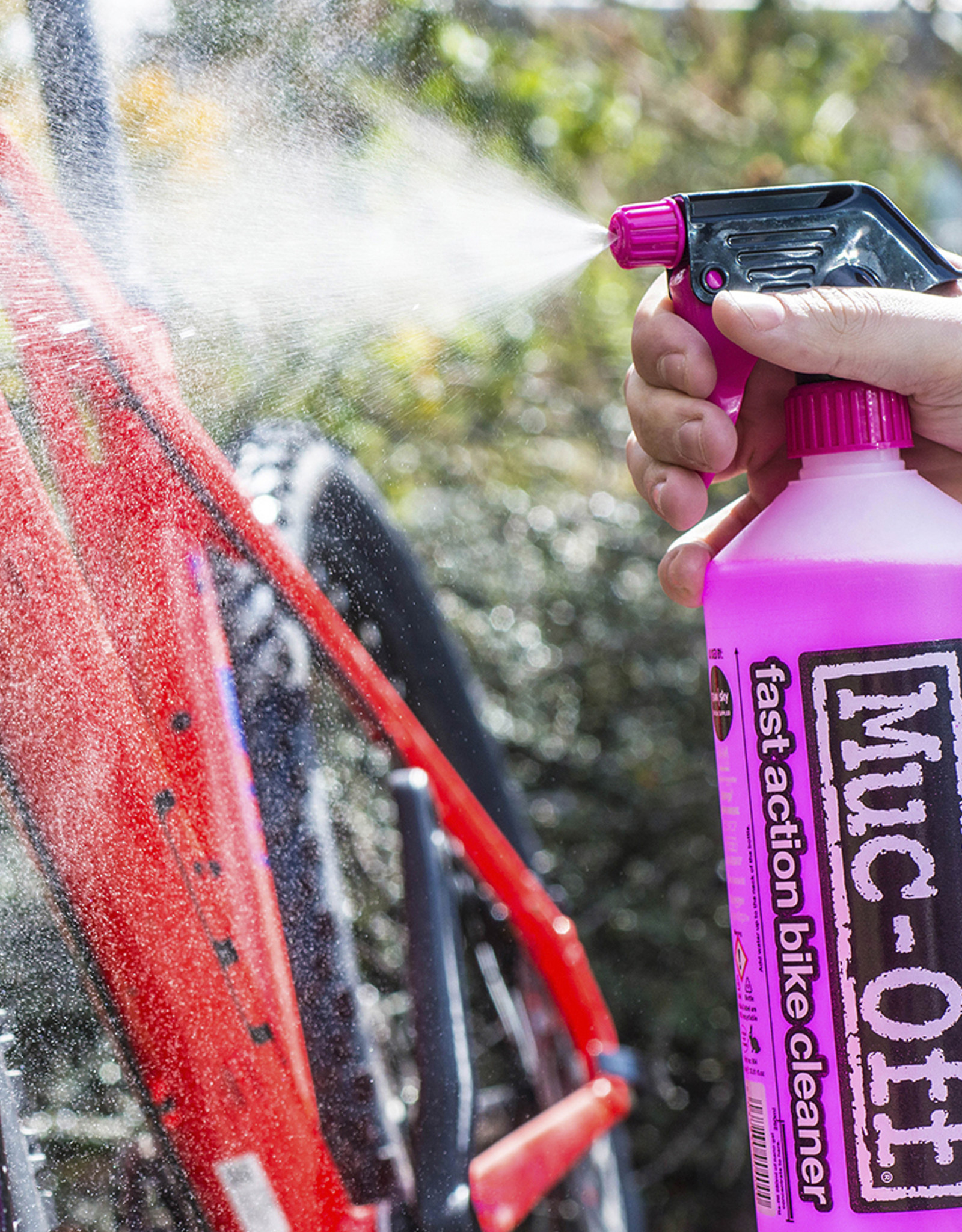 Muc-Off Muc-Off, Nettoyant de vélo Nano Tech, 1L