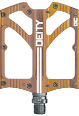 Deity Deity, Bladerunner, Pédales plateformes, Corps: Aluminium, Axe: Cr-Mo, 9/16'', Bronze, Paire