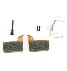 SRAM SRAM, HRD, Level TLM, Level Ultimate, Patins de freins à disque, Métal, dos en acier, paire