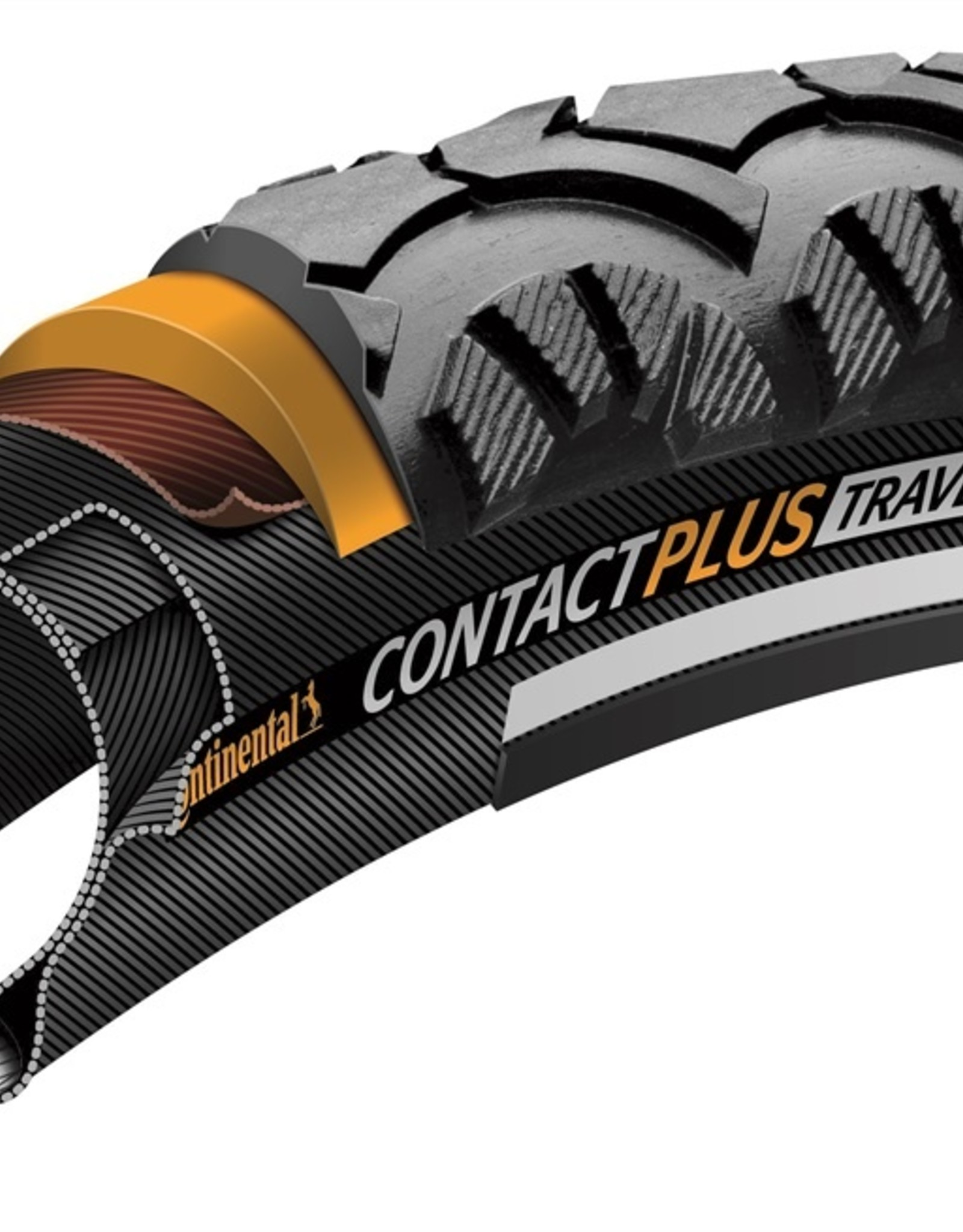 Continental Continental Contact Plus Travel 700 X 37 Reflex